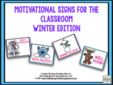 Motivational Signs - Winter Theme