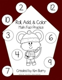 Roll, Add, and Color - Winter Mouse Edition