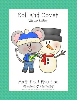 Roll and Cover - Winter Mouse