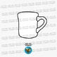 Winter Mugs Clip Art Set 2