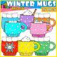Winter Mugs Clipart Bundle!