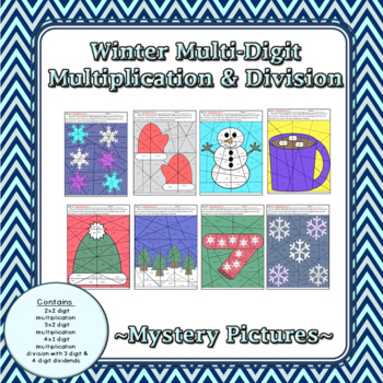 Winter Multi-Digit Multiplication and Division