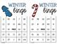 Winter Multiplication Bingo