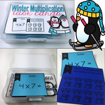 Multiplication Games For Fact Fluency {Winter Themed} Bump and Scoot