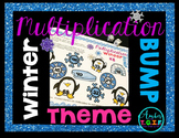 Multiplication Games - Winter Theme x2-x12 & Perfect Squares