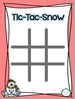 Winter Multiplication Games: TicTac Snow, Polar Products, Multiplying Mittens