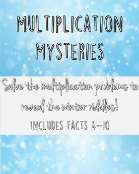 Winter Multiplication Mysteries