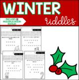 Winter Multiplication Riddles & Jokes