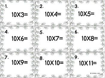 Winter Multiplication Scoot