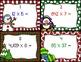Holiday Math Multiplication Task Cards