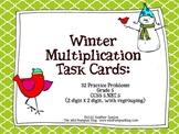 Winter Multiplication Task Cards {32 Winter-Themed Task Cards}