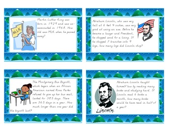 Winter Multiplication Word Problems Task Cards