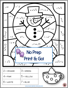 winter music 26 winter music coloring pages - Music Coloring Page