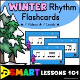 Winter Music Activities: Rhythm Card Activities for Winter