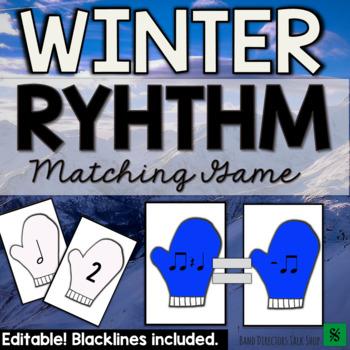 Winter Music Activities: Rhythm Mittens Game