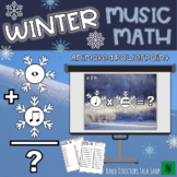 Winter Music Activities- Snowflake Powerpoint Winter Music Game