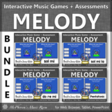 Winter Music   Interactive Solfege Games & Assessments {Snow Globe Bundle}