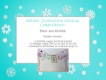 Winter Music Composition Lesson: Rhythm and Solfege