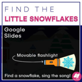 Winter Music Distance Learning: Find the Little Snowflakes