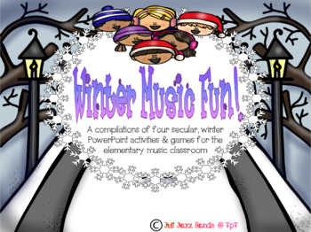 Winter Music Fun!- Four secular activities and games