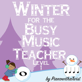 Winter Music Game Bundle Level 1: four games, zero prep!