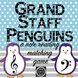 Winter Music Game: Grand Staff Penguins