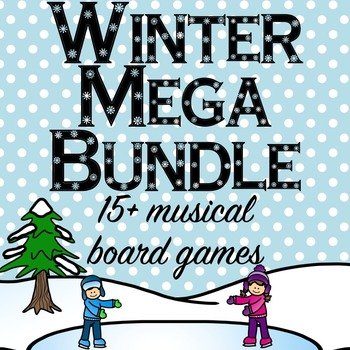 Winter Music Game Mega Bundle- 15+ Games and Activities!