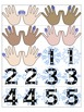 Winter Music Game: Piano Finger Numbers