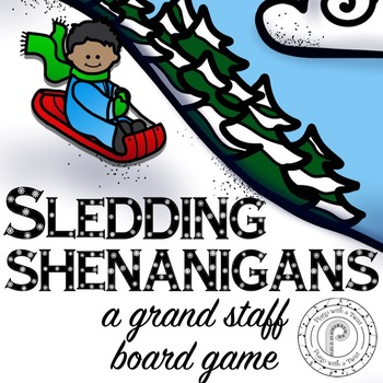 Winter Music Game: Sledding Shenanigans