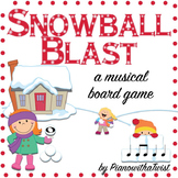 Winter Music Game: Snowball Blast