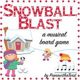 Winter Music Game: Snowball Blast