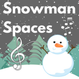 Winter Music Game: Snowman Spaces