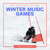 Winter Music Games {A Bundled Set of Games for the Music Room}
