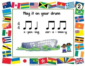 Winter Music Games 14 rhythm Drumming - Composition Bundle