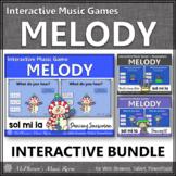 Winter Music Games: Sol Mi La Interactive Melody Games {Bundle}
