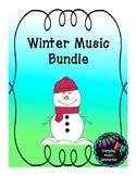 Winter & Snow Themed Music Worksheet Pack!