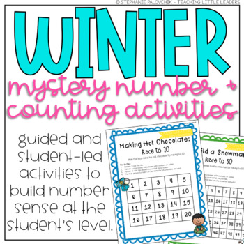 Winter Mystery Number and Counting Activities