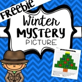 Winter Mystery Picture 1-120 Chart Freebie