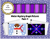 Winter Mystery Picture Graph Fun Pack Activity-No Prep!!!
