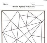 Winter Mystery Picture Templates