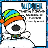 Winter Mystery Pictures -- Multiplication & Division
