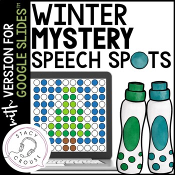 Winter Mystery Speech Spots for Articulation Practice