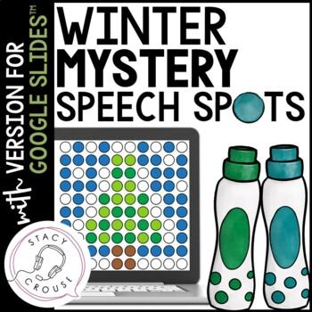 Winter Mystery Speech Spots for Articulation Practice