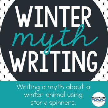 Winter Myth Writing - Free Writing Lesson