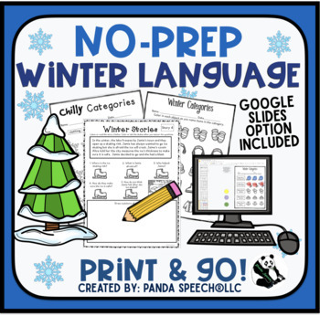Winter NO PREP Language Pack