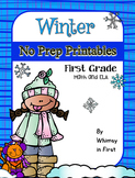 Winter Activities | January Activities NO PREP (First Grade)