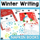 Winter Napkin Book Writing Prompts