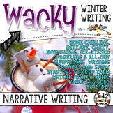 Winter Narrative Writing: Writing Task Cards & Writing Activities