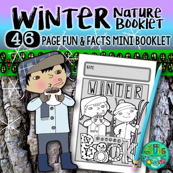 Winter Nature Booklet {A booklet of activities celebrating