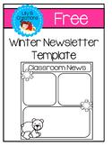 Winter Newletter Template